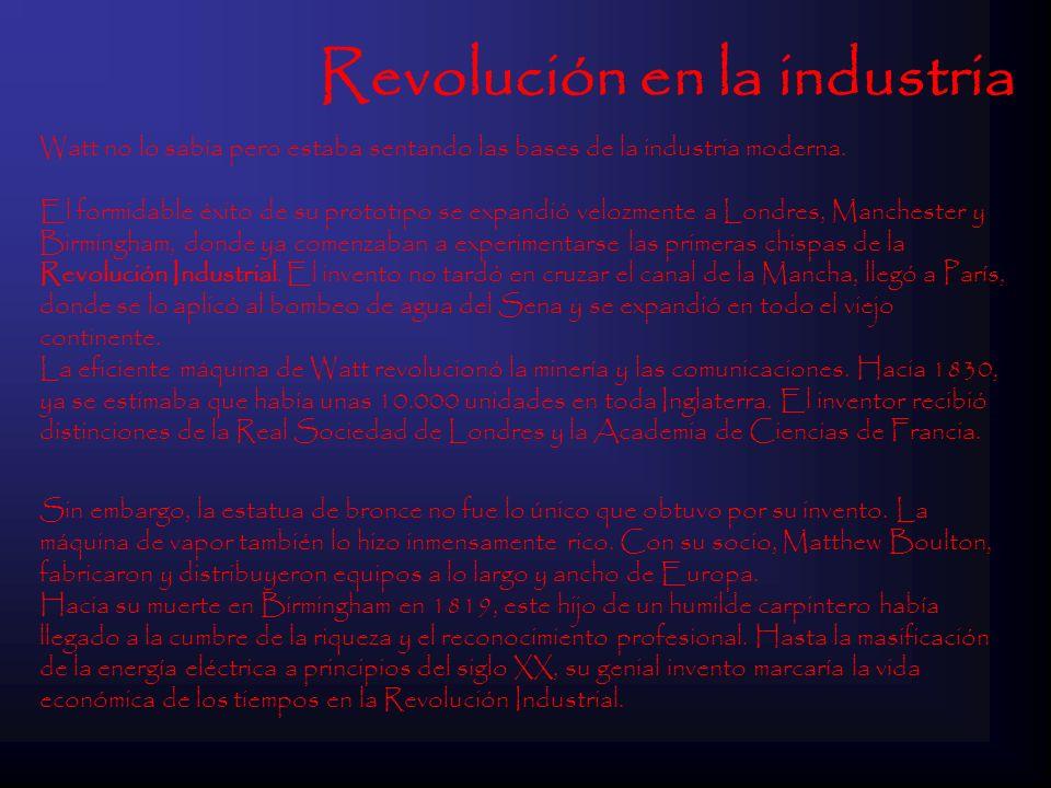 Revolución en la industria