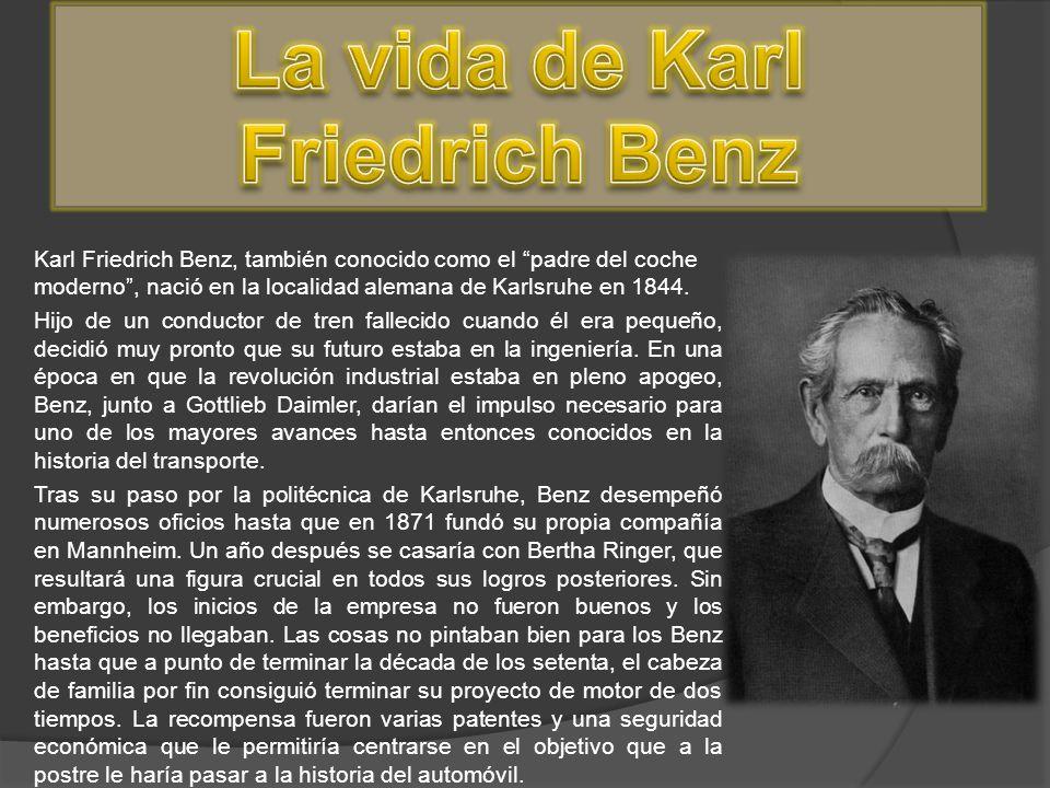 La vida de Karl Friedrich Benz