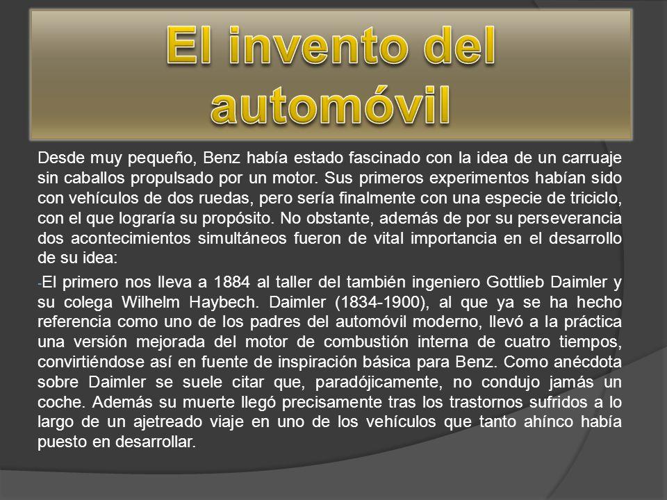 El invento del automóvil