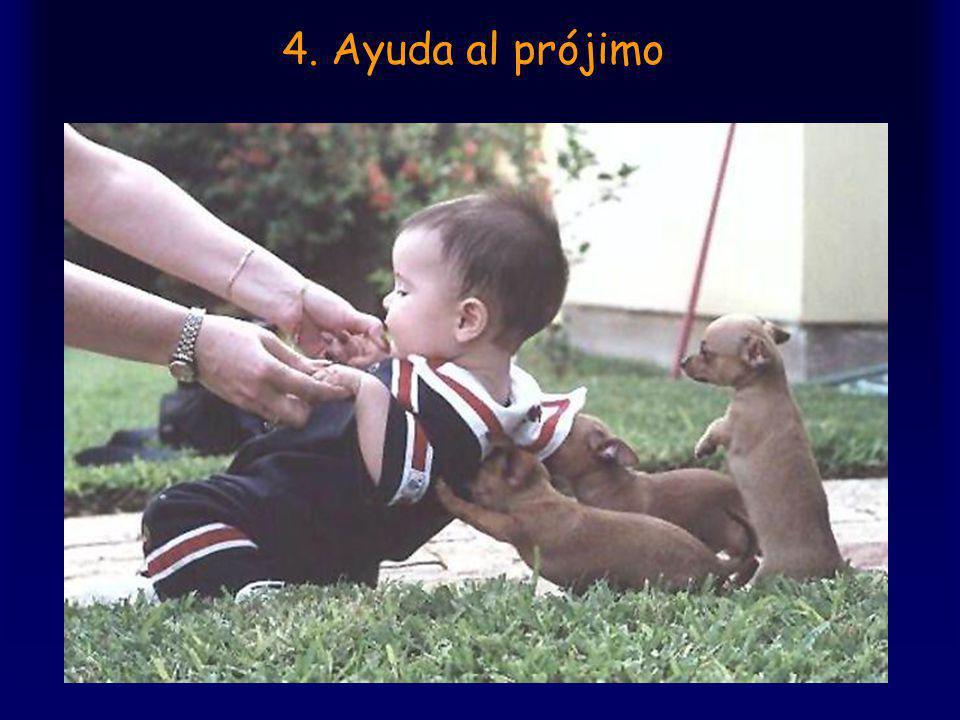 4. Ayuda al prójimo