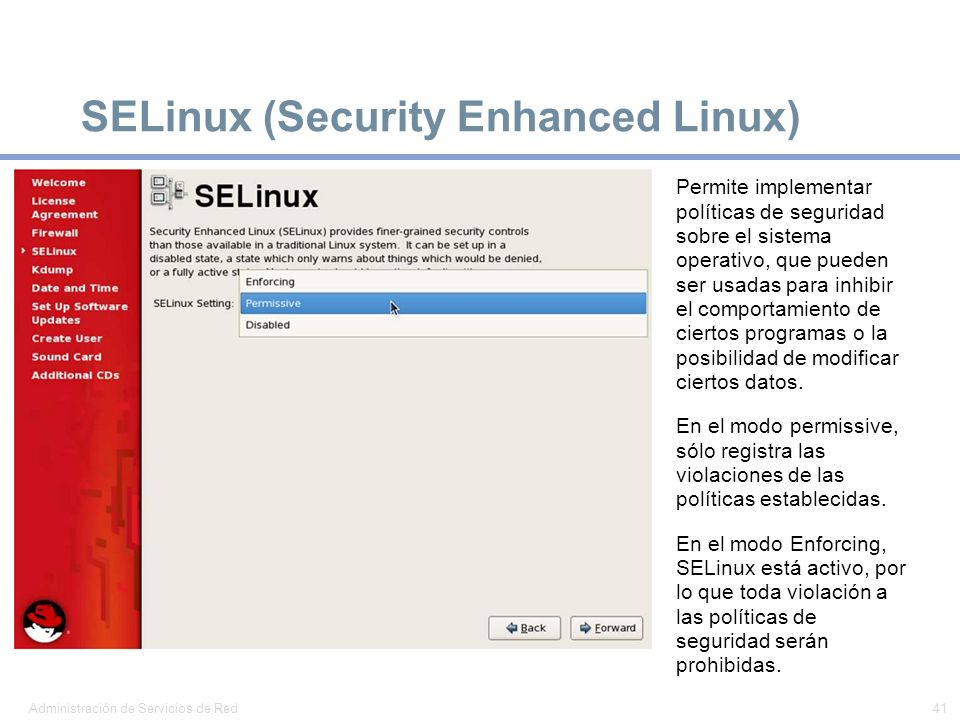 SELinux (Security Enhanced Linux)