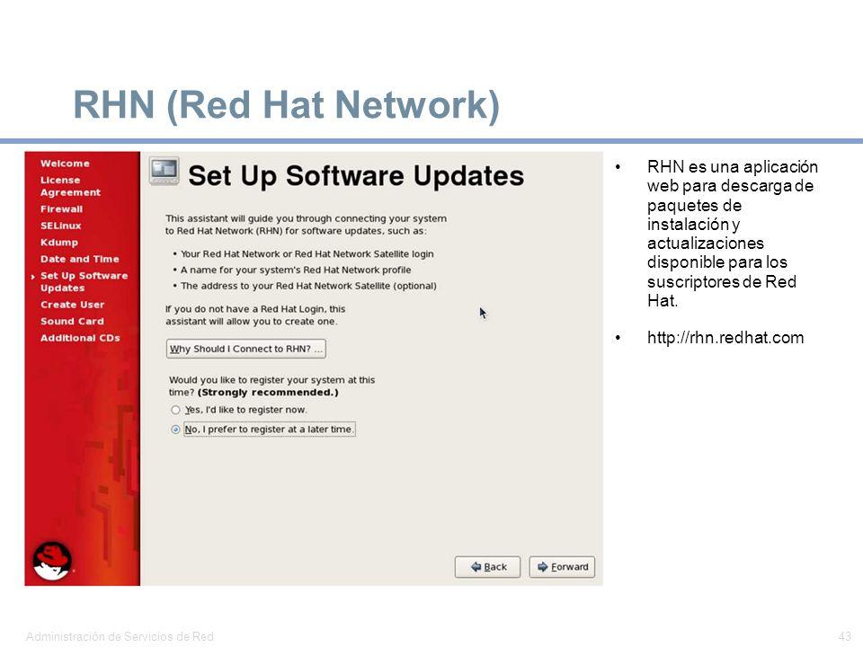 RHN (Red Hat Network)