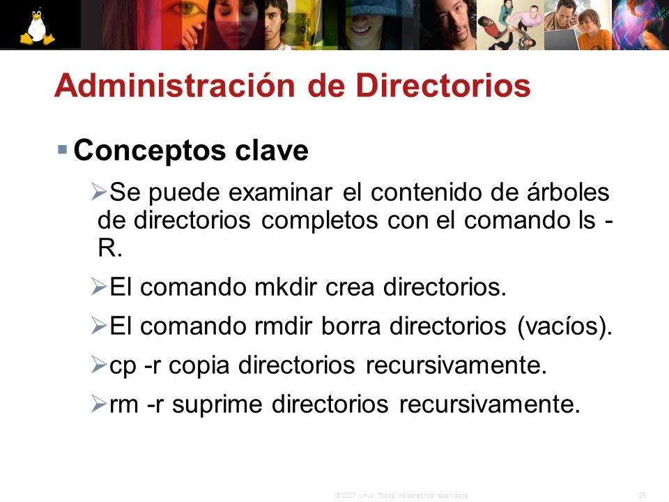 Administración de Directorios