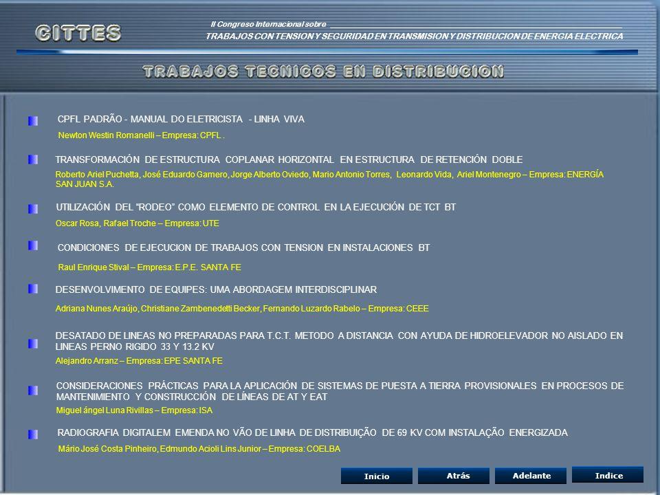 CPFL PADRÃO - MANUAL DO ELETRICISTA - LINHA VIVA
