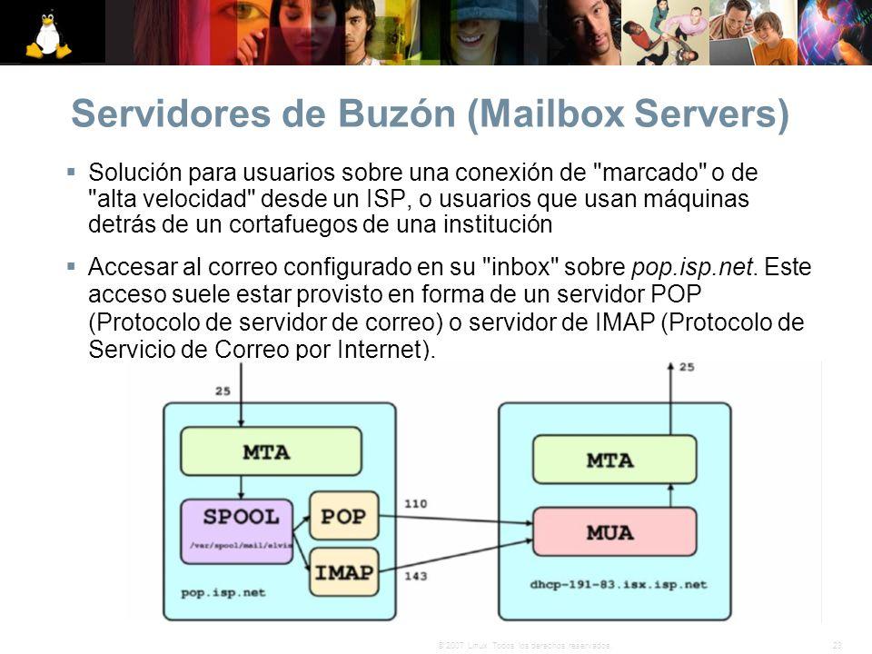 Servidores de Buzón (Mailbox Servers)