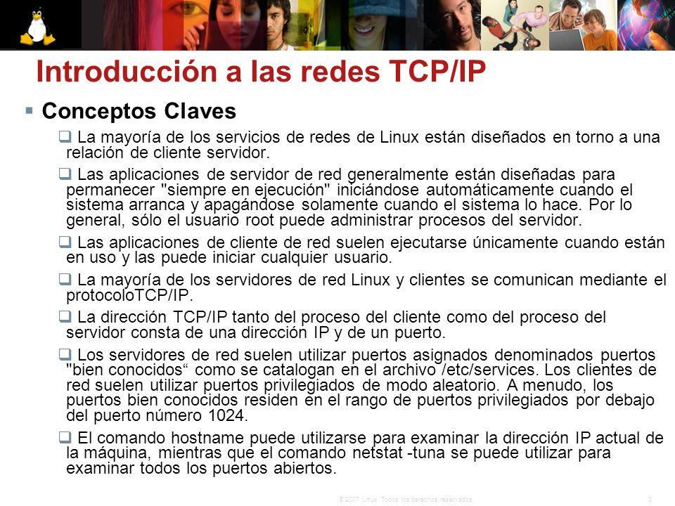 Introducción a las redes TCP/IP
