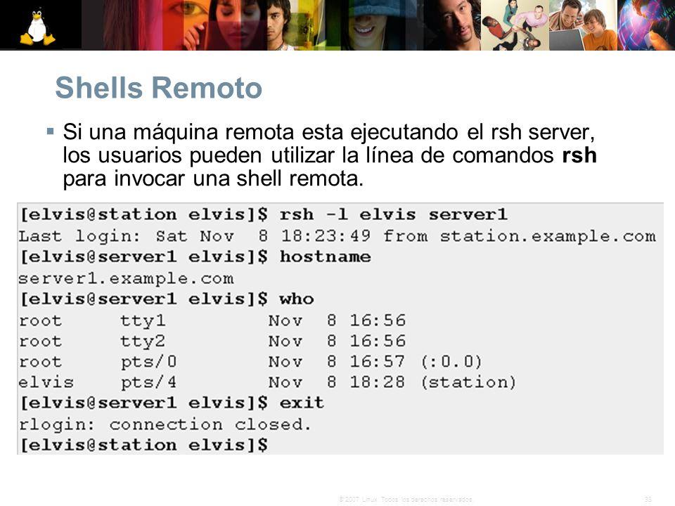 Shells Remoto