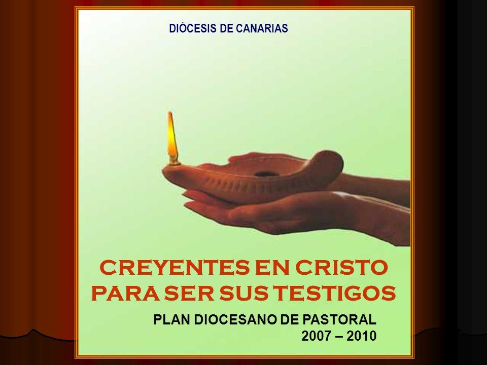 CREYENTES EN CRISTO PARA SER SUS TESTIGOS