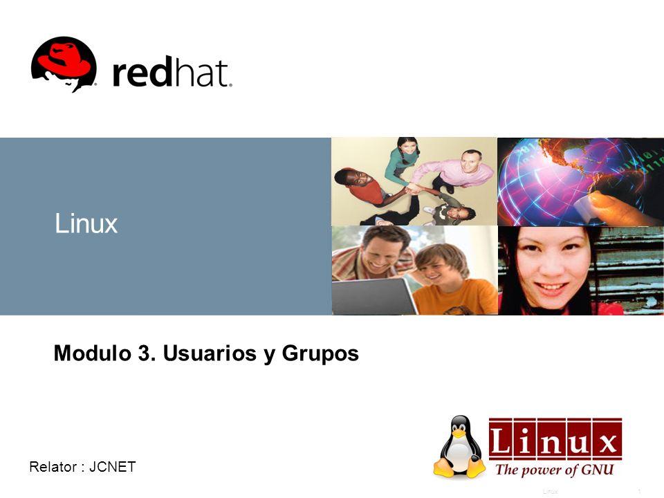 Modulo 3. Usuarios y Grupos