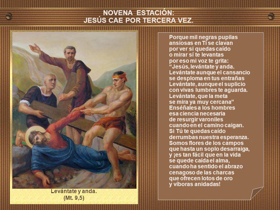 JESÚS CAE POR TERCERA VEZ.