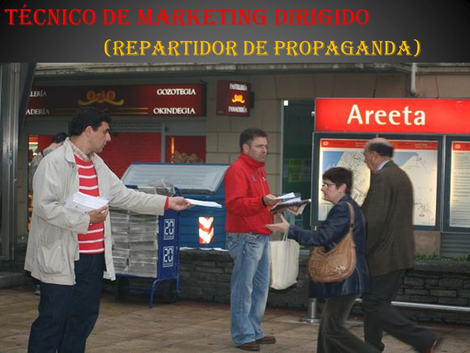 Técnico de Marketing Dirigido