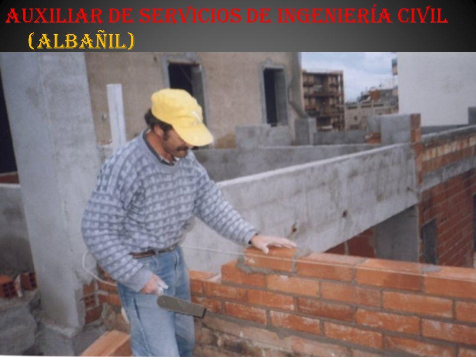 Auxiliar de Servicios de Ingeniería Civil