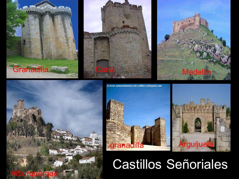 Castillos Señoriales Granadilla Coria Medellin granadilla Arguijuela