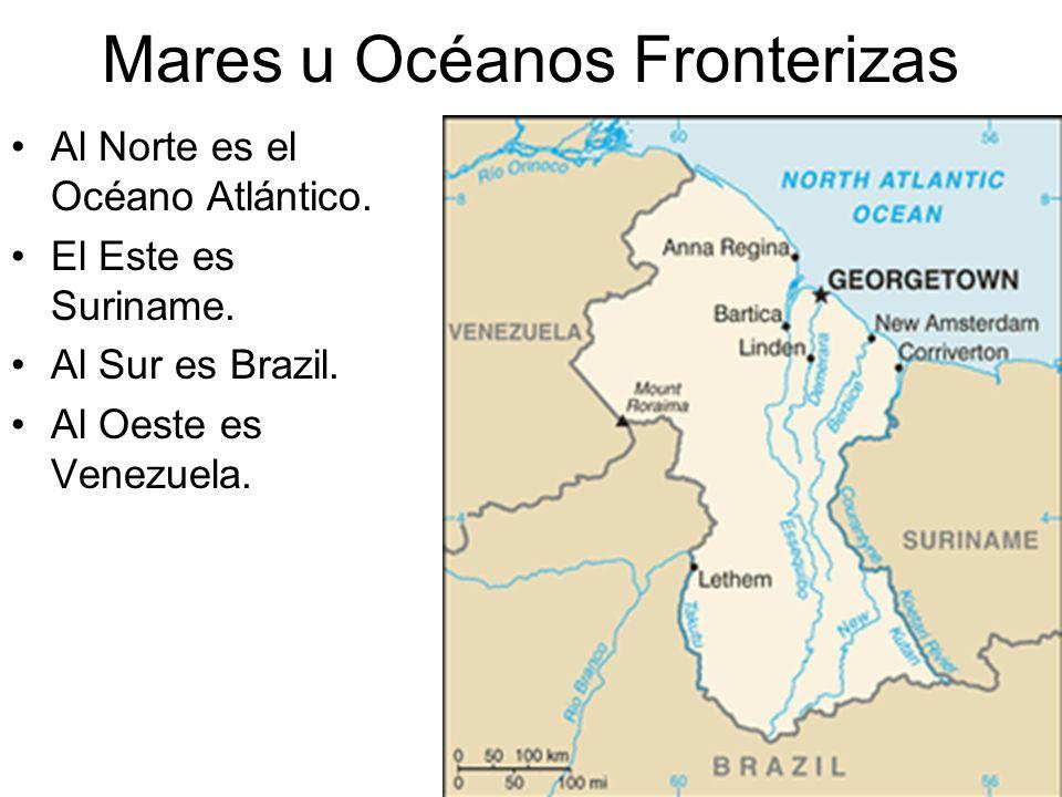 Mares u Océanos Fronterizas