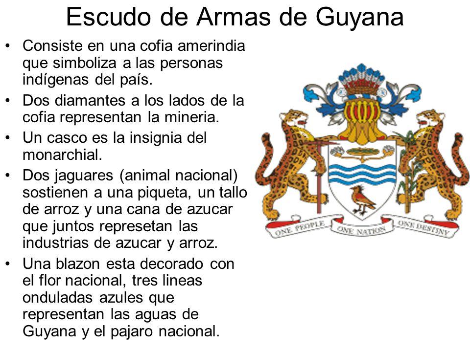 Escudo de Armas de Guyana