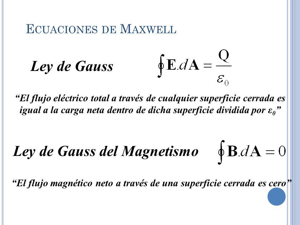 El flujo magnético neto a través de una superficie cerrada es cero