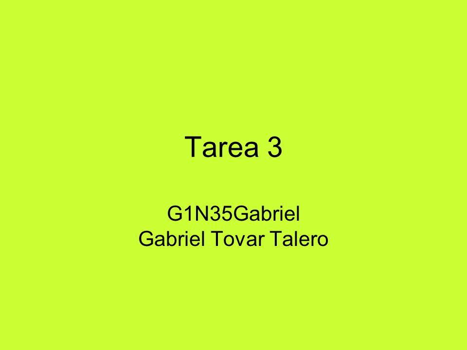 G1N35Gabriel Gabriel Tovar Talero