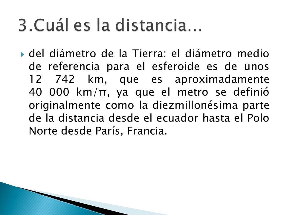 3.Cuál es la distancia…