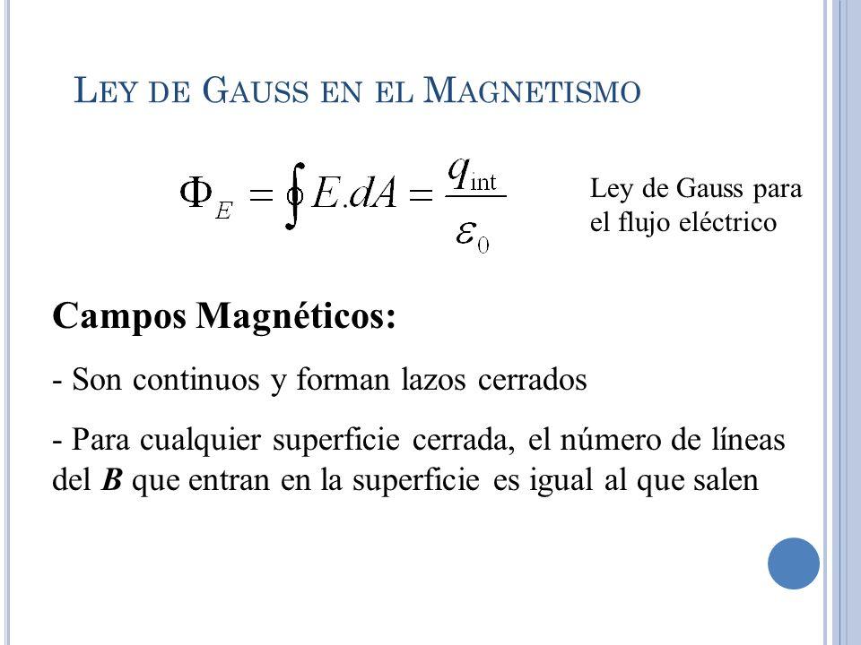 Ley de Gauss en el Magnetismo