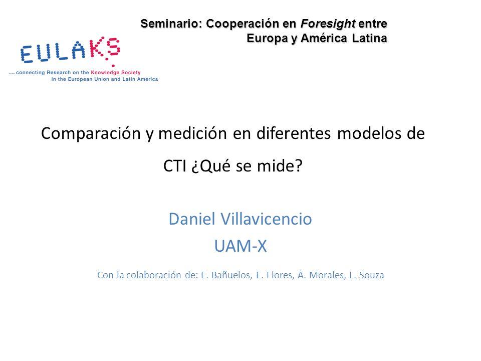 Comparación y medición en diferentes modelos de CTI ¿Qué se mide