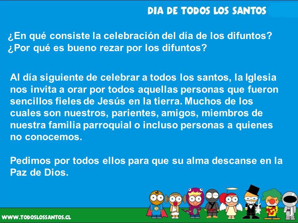 ¿En qué consiste la celebración del día de los difuntos