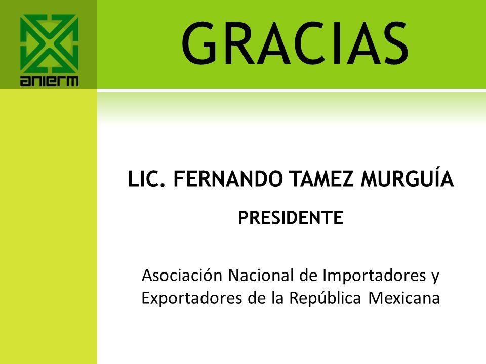 LIC. FERNANDO TAMEZ MURGUÍA