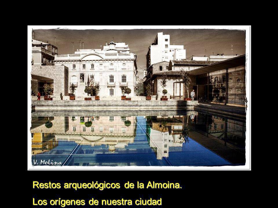 Restos arqueológicos de la Almoina.