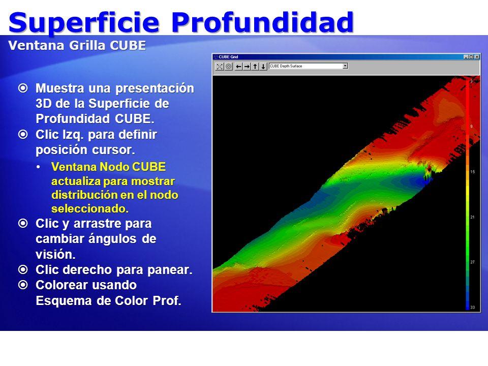 Superficie Profundidad Ventana Grilla CUBE