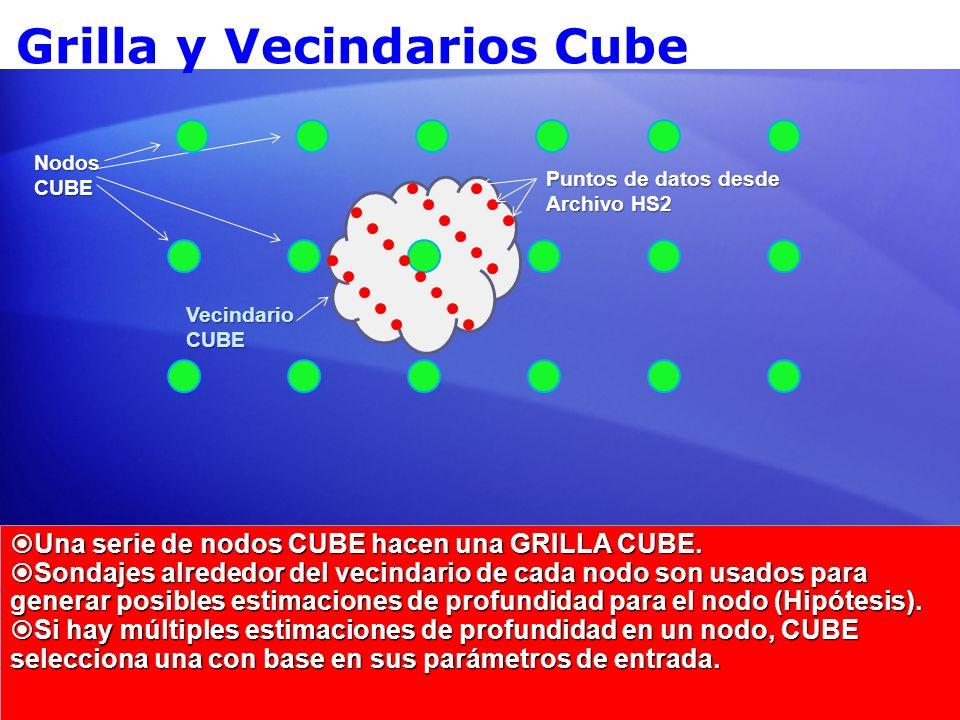 Grilla y Vecindarios Cube