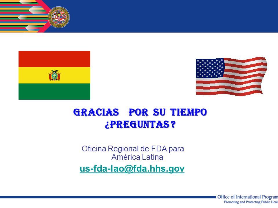 Oficina Regional de FDA para América Latina