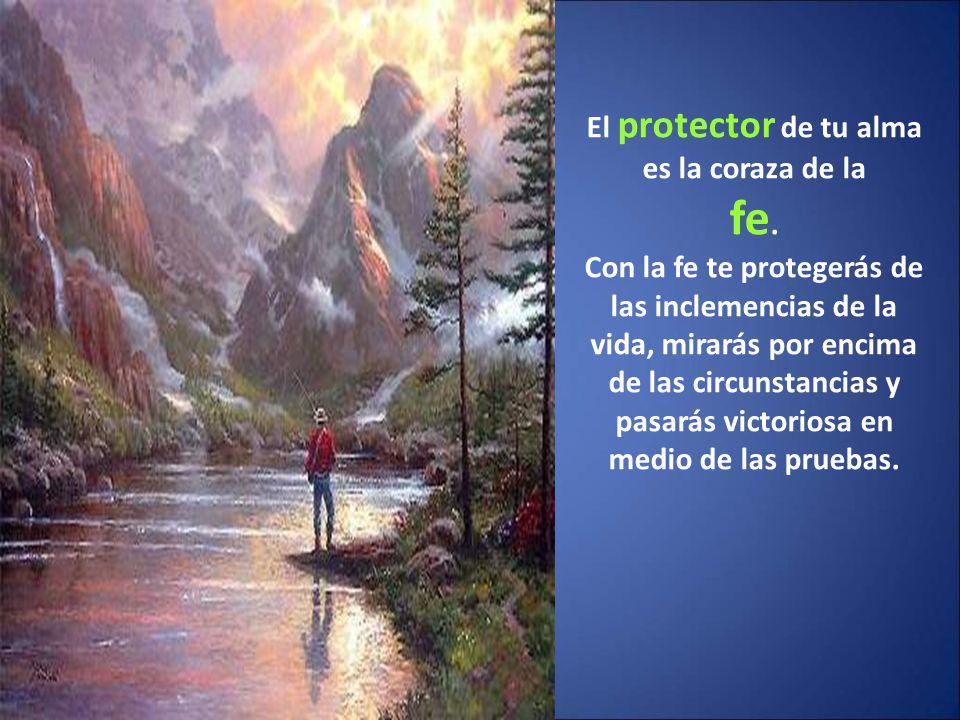 El protector de tu alma es la coraza de la