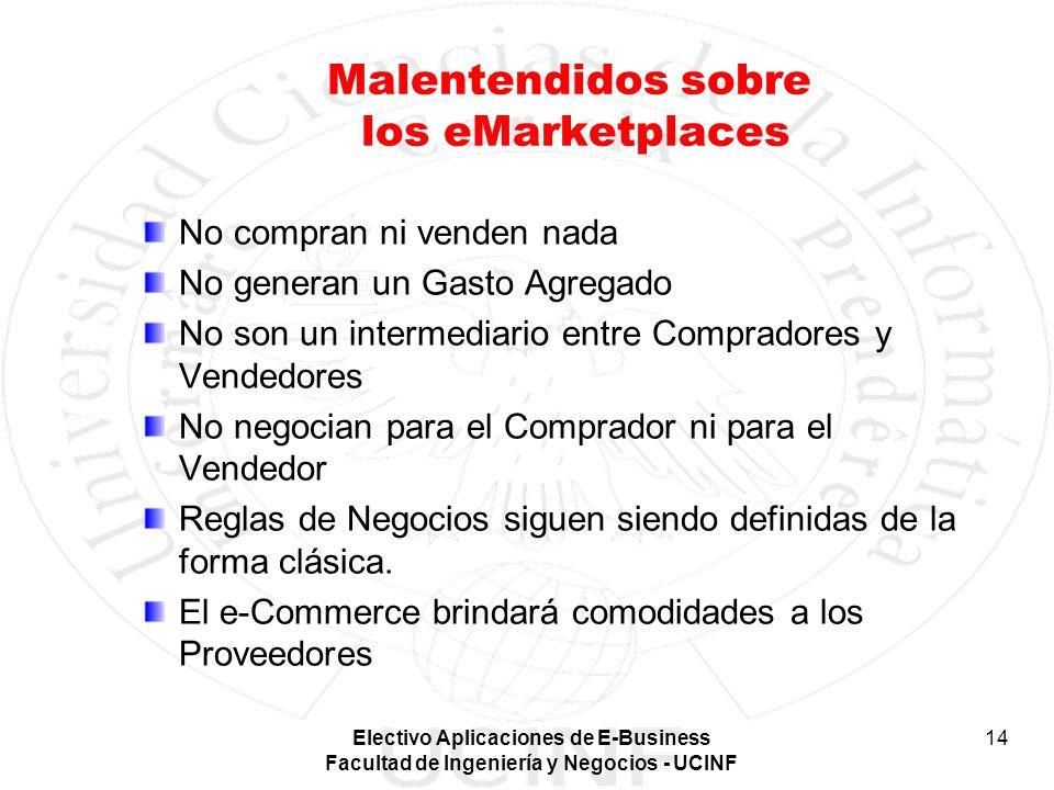 Malentendidos sobre los eMarketplaces