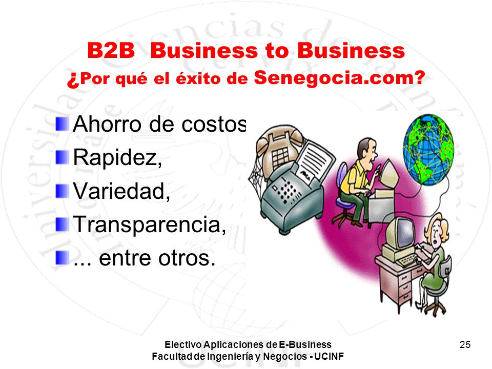 B2B Business to Business ¿Por qué el éxito de Senegocia.com
