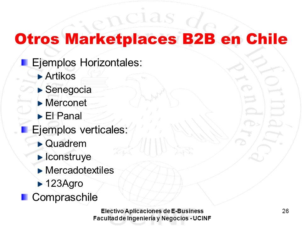 Otros Marketplaces B2B en Chile