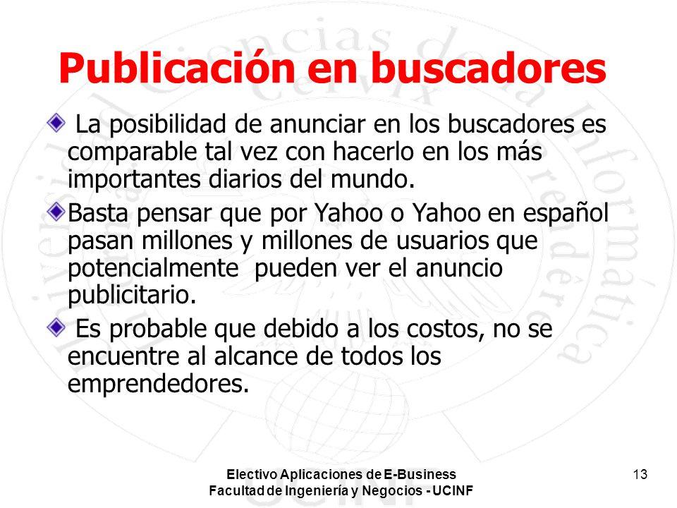 Publicación en buscadores