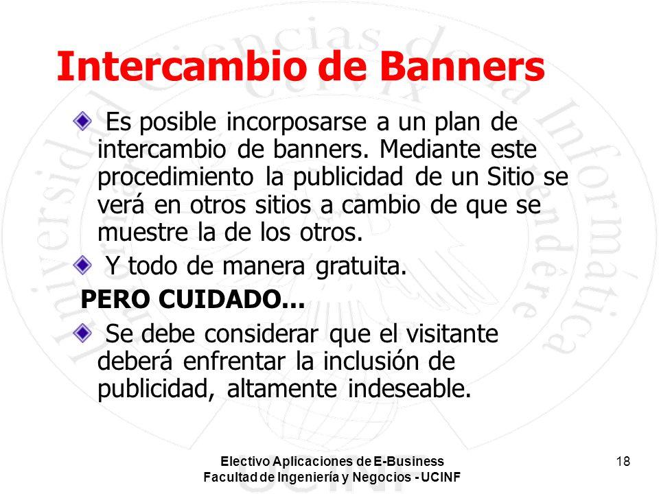 Intercambio de Banners