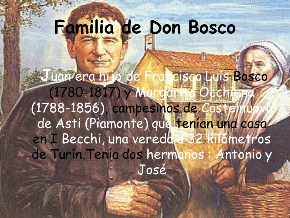 Familia de Don Bosco