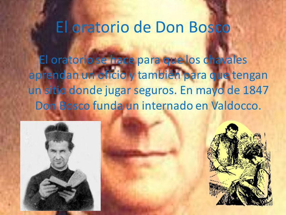 El oratorio de Don Bosco