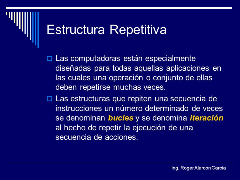 Estructura Repetitiva