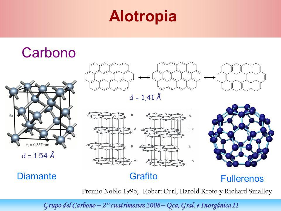 Grupo del Carbono – 2° cuatrimestre 2008 – Qca, Gral. e Inorgánica II