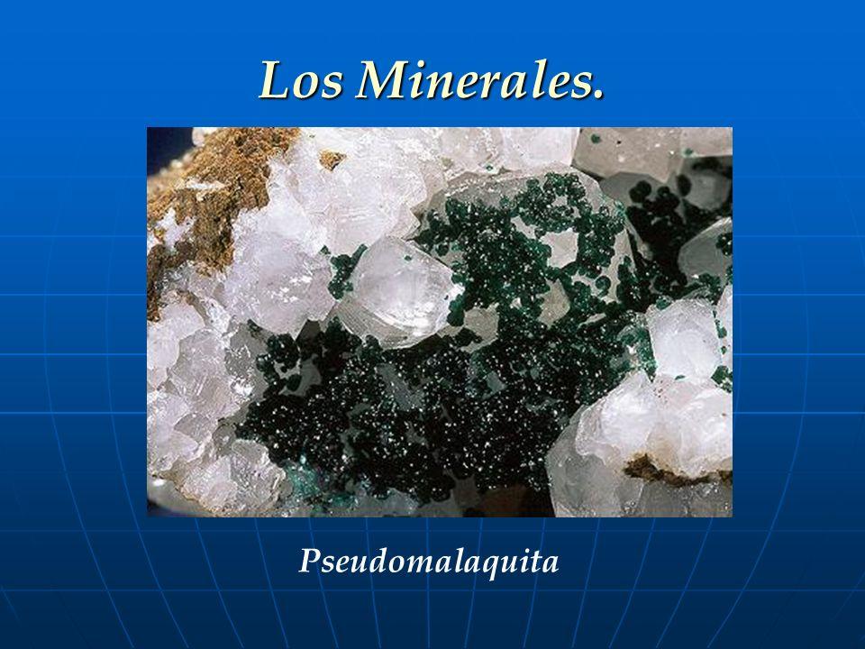 Los Minerales. Pseudomalaquita 13