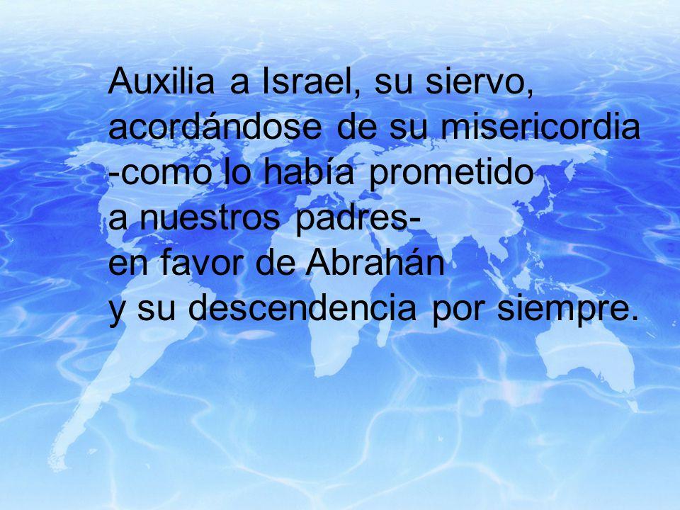 Auxilia a Israel, su siervo,