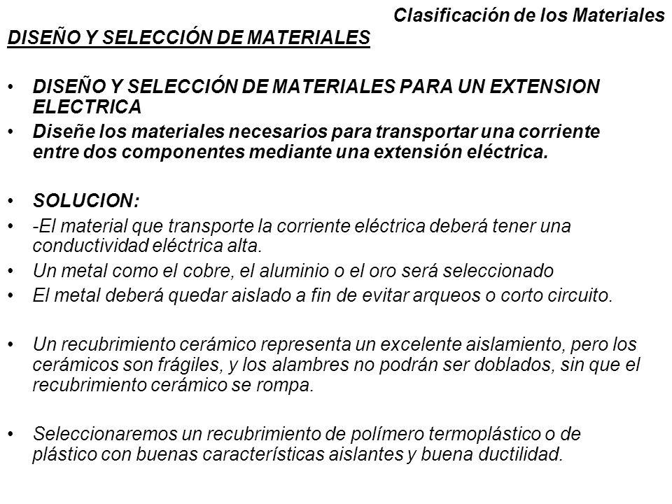 DISEÑO Y SELECCIÓN DE MATERIALES