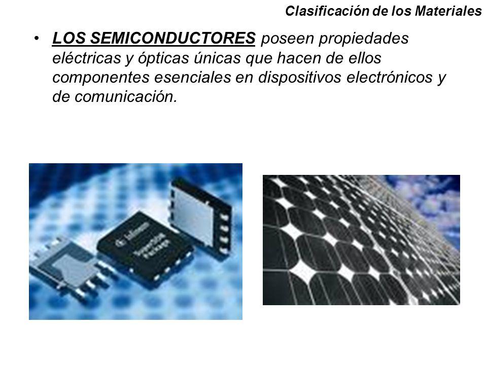 LOS SEMICONDUCTORES poseen propiedades eléctricas y ópticas únicas que hacen de ellos componentes esenciales en dispositivos electrónicos y de comunicación.