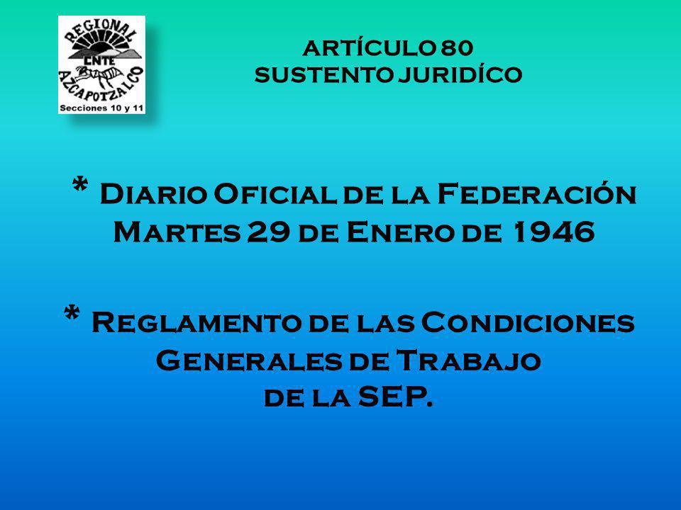 * Diario Oficial de la Federación