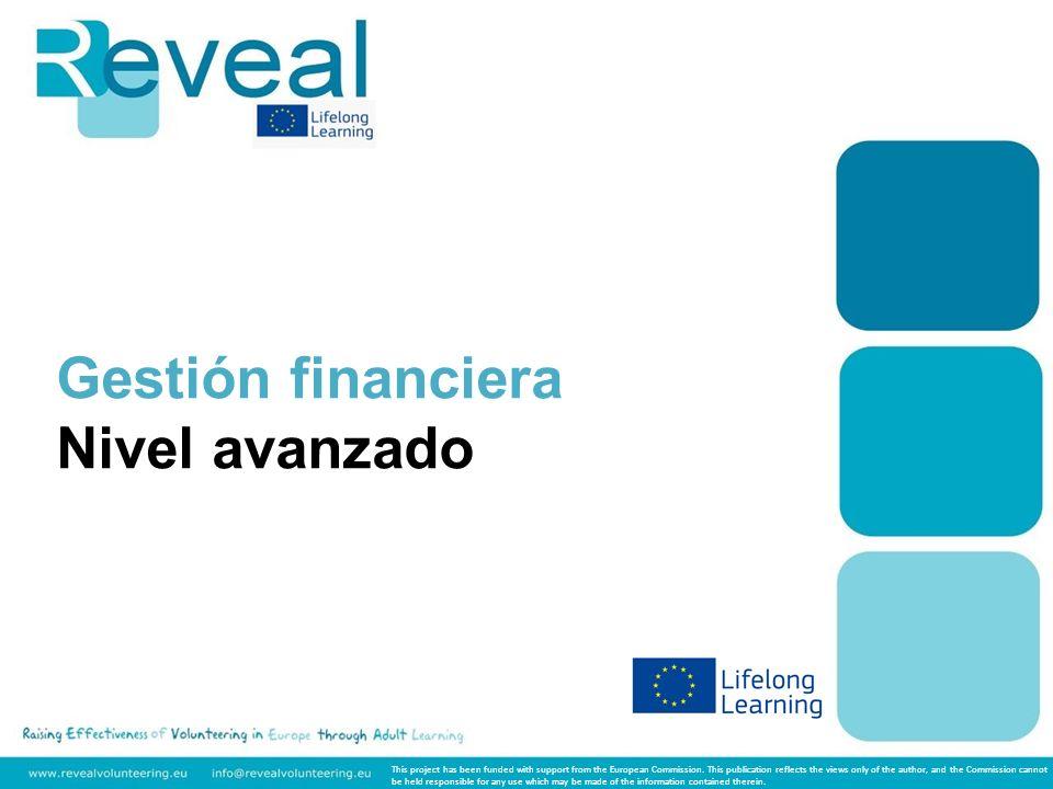 Gestión financiera Nivel avanzado