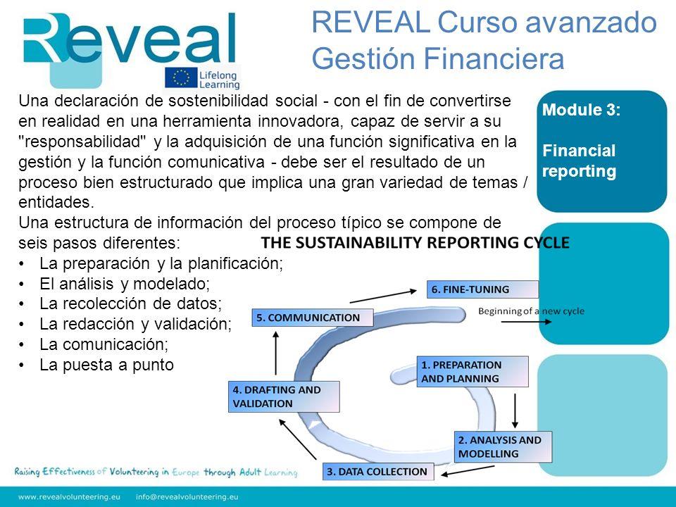 REVEAL Curso avanzado Gestión Financiera