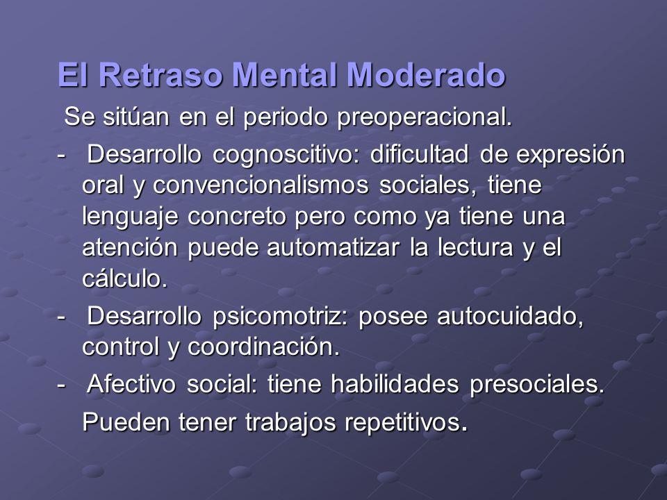 El Retraso Mental Moderado