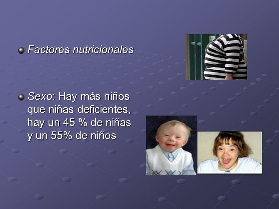 Factores nutricionales