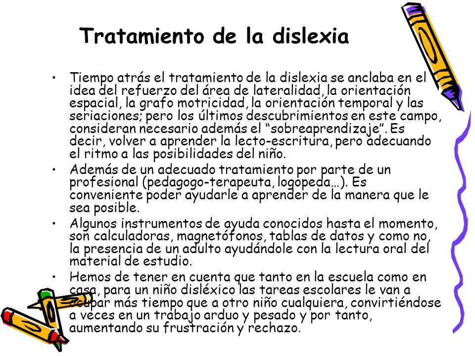 Tratamiento de la dislexia
